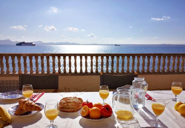 Ferienwohnung in Alcúdia - Apartamento Can Solivellas