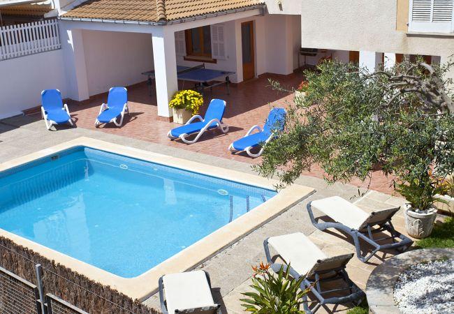 Ferienhaus in Can Picafort - Casa Abel